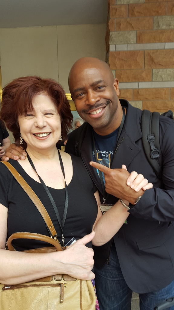 Leland Melvin and me